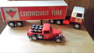 Canadian  tire vintage truck collectibles