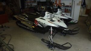2 POLARIS SLEDS FOR SALE-LIKE NEW