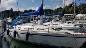 Yacht syndicate share (1/4) GibSea Master sailing boat