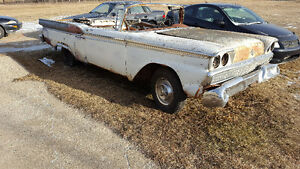 For sale 1959 ford meteor convertable