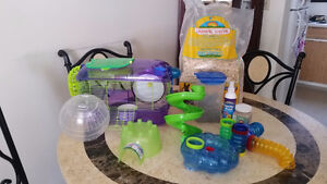 Everything you need to own a hamster!!!!