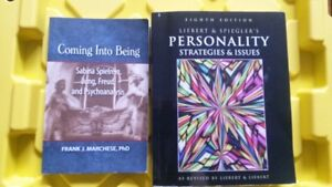 Personality Strategies & Issues 8th Edition & Coming Into Being