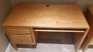 Computer Desk with Side Cabinet Kitchener / Waterloo Kitchener Area image 3