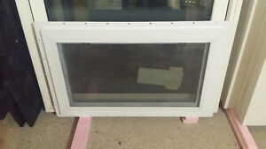 PVC Basement Hopper Egress Window (new)