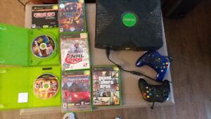 Original Xbox + Controller + 7 games
