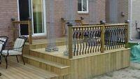 Decks, Fences, Pergolas