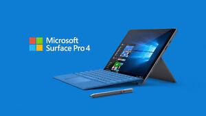 Microsoft Surface Pro 4 256GB, Intel Core i5, 8GB RAM + Extras
