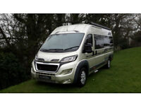 2016 '16' AUTOSLEEPER WARWICK XL 2 BERTH LUXURY MOTORHOME. ONLY 4,450 MILES.