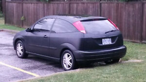 2000 Ford Focus ZX3 hatchback - $1200 as-is