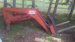 pelle et contrôle d'huile quick attache pour tracteur Case David