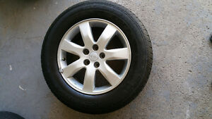 KIA Rims and Tire 17 inch