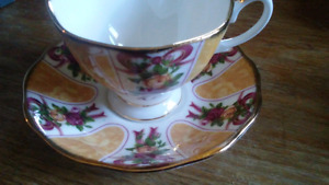 China tea cup and saucer