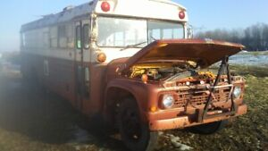 1965 Ford camperized bus