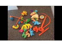 Cot mobile, musical cot toy & cot spiral