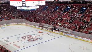 Vancouver at Montreal Canadiens Bell Centre