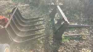 Pair of small Tractor or Skid Steer attachments