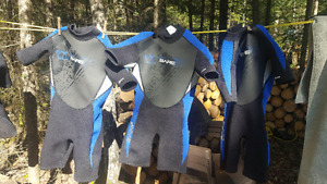 Wet suits for kids