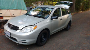 2003 Toyota Matrix - Great Car in Excellent Condition