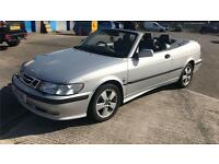 2002 Saab 9-3 2.0T SE T Cabriolet Convertible * 117k Miles * Summer Fun Bargain!