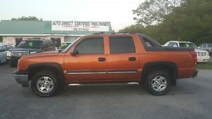 2006 CHEVROLET AVALANCHE 4X4 PICKUP *** LOW KM *** CERT $9995