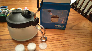 NEW Complete airbrush set for sale, paint & cleaning kit Kingston Kingston Area image 7