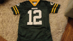 Green Bay Packers Jersey - boys size 10-12