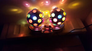 DUAL ROTATING PARTY LIGHTS brand new in packaging