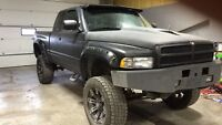 Lifted 1995 Dodge Ram 1500 sport