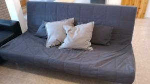 Futon divan lit double