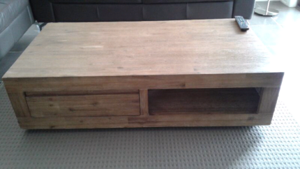 Coffee Table Solid Wood with draw!!!