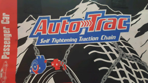 Auto track tire chains. 4 chains.