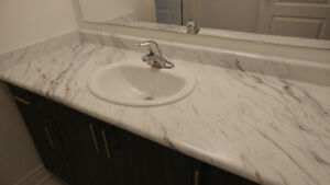 New Vanity Top with Faucet and Sink