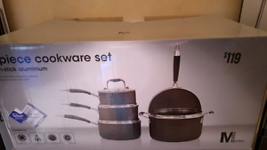 PRICE REDUCED!! NEW 5 X COOKWARE SET Saucepan & Stockpot & Frypan Daisy Hill Logan Area Preview