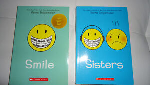 Smile-2 books(Smile and Sisters)both for $15.00