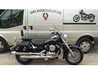 AMAZING 2008 YAMAHA XVS650 VSTAR CLASSIC, PANNIER BAGS, HEATED GRIPS, 2 OWNERS