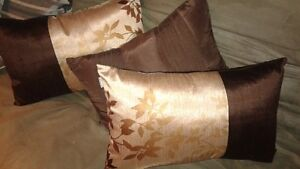 THREE NEW CONDITION THROW PILLOWS