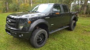 Ford F150 FXR Supercrew 4X4 lifted.