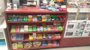 Candy rack and storage