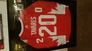 John Tavarez signed world hockey Jersey