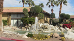 PALM SPRINGS 2 BED/2 BATH VACATION CONDO IN GATED RESORT