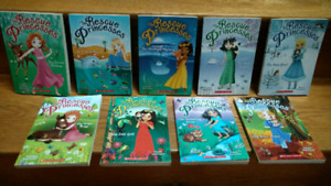 9 Rescue Princesses chapter books by Paula Harrison (brand new!)