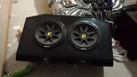 2 12' kickers in a bassworks box