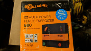 BRAND NEW  -   GALLAGHER FENCE ENERGIZER - Retail: $279