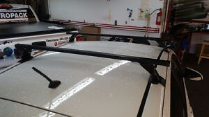 Complete Square Bar Roof Rack System for ANY car St. John's Newfoundland image 4
