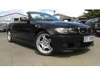 2006 BMW 3 SERIES 318CI M SPORT CONVERTIBLE JUST 54000 MILES CONVERTIBLE PE
