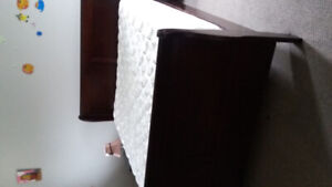 Bed Frame with mattress and other stuff