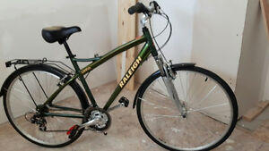 Two Raleigh 7-speed bikes
