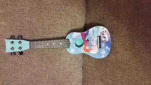 Guitare Reine des neige