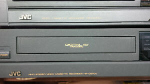6 Vintage 90`s JVCD S-VHS players Kitchener / Waterloo Kitchener Area image 5