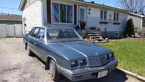 Plymouth caravelle 1984 (projet)